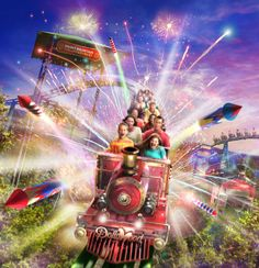 Dollywood Plans to Reopen with Exciting New Roller Coaster - Every year, the Pigeon Forge attraction shuts down for the coldest months and reopens sometime in March for their new season. Want to learn more about this ride? Click the pin!