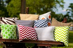 Variety Décor Pillows- StylishAmericanLiving.com