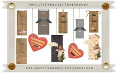 Mrs. Monday: Free printable gift-tags