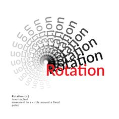 """""""Rotation"""" Movement in a circle around a fixed point. Art, Art Background, Kunst, Performing Arts, Art Education Resources, Artworks"""