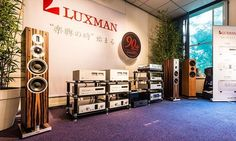 The gorgeous ProAc K6 Speakers with Luxman electronics #TheSpeakerShack #ProAcK6 #Carbon #Luxman #Speakers #Amplifiers #Audio #HighEnd #Music