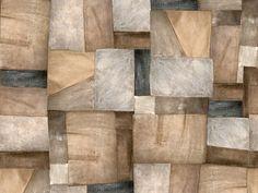 Carta da parati effetto pietra SEW UP Collezione Life! 14 by Wall&decò | design Christian Benini