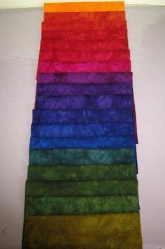 1000 images about quilts fabrics on pinterest colour - Jewel tones color wheel ...