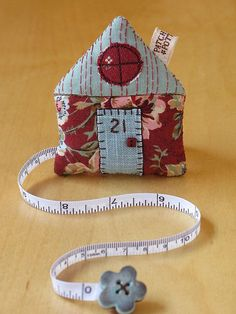 House Tape Measure 51 | PatchworkPottery | Flickr