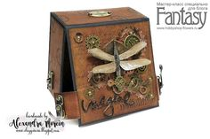 ClayGuana  Steampunk Style Box - Tutorial Steampunk Crafts fa13306d90107