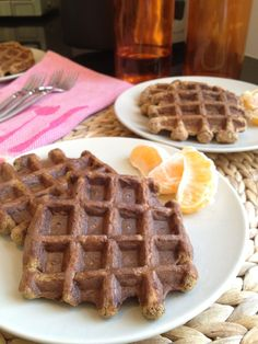 carrot banana waffles...maybe squash or zucchini to cut down on the sugar? still sounds good though