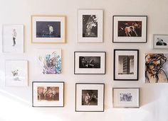 Thanks to @thethick for this nice feature on the wall of photographs, illustrations, and paintings in my NYC apartment. via ✨ @padgram ✨(http://dl.padgram.com)