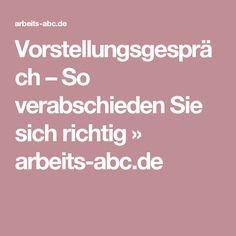 Vorstellungsgespräch – So verabschieden Sie sich richtig » arbeits-abc.de