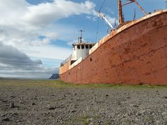 ship wreck in Iceland, Western Isles