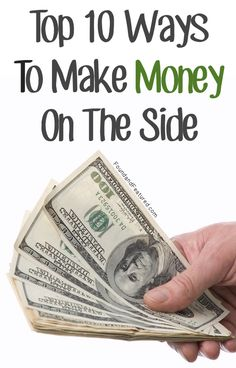 Some great ways to make a little extra money!