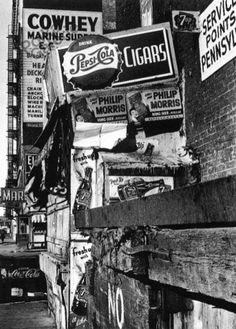 NYC. Cowhey Marine, 1955 // William KLEIN