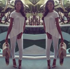 all #white #summer #outfit