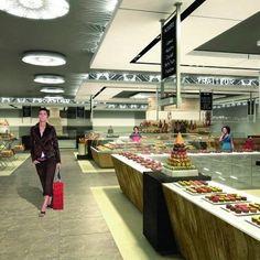 Dubai Mall : Cada Design Group creates Galeries Lafayette gourmet food concept in Dubai | New