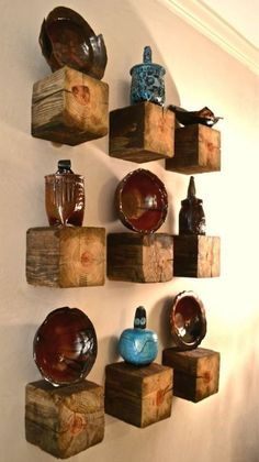 12 Shelving Ideas To Repurpose Your Old Stuff