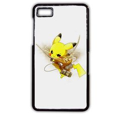 Pokemon Pikachu Attack Onbtitan Shingeki No Kyojin TATUM-8830 Blackberry Phonecase Cover For Blackberry Q10, Blackberry Z10