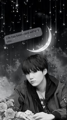You too Yoongi... #suga #bts #wallpaper #handmade #love #minyoongi #yoongi #bangtanboys