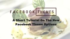 New Theme Options For Facebook Pages. Watch my short video tutorial to show you how to check and see if your Facebook like page has these options.
