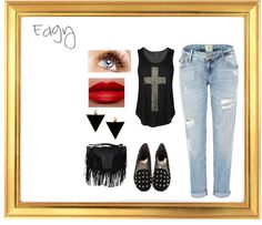 """""""Edgy"""" by born2dr3am on Polyvore"""
