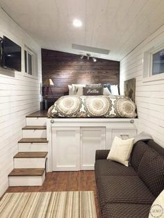 Small Bedroom Designs and Ideas. Whether on a Budget or Doing it Yourself, these are stylish ideas for your Bedroom Decor Home Bedroom Design, Small Bedroom Designs, Small Room Bedroom, Home Interior Design, Living Room Designs, Bedroom Decor, Bedroom Ideas, Bed Ideas, Small Rooms