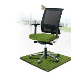 Restyling buro stoelen een 2e leven duurzaam en groen www.visionfurniture.nl de Kantoor restylers
