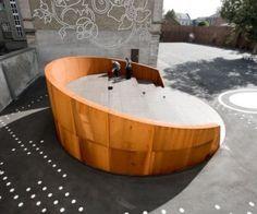 fascinating - large corten outdoor auditorium?