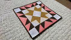 Kitty Quilt 2 by @stitchedheart1