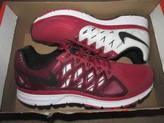 Nike Zoom Vomero 9 Team Mens Running Shoes 10.5 Varsity Crimson White 659373  603…