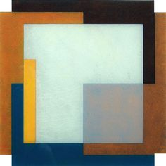 Roy Good. Notched Perspex No. 6. 2007. Acrylic on perspex. 1000 x 1000 mm