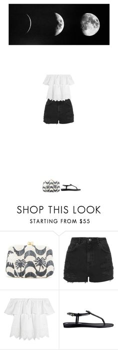 """""""Sin título #138"""" by ladymarian ❤ liked on Polyvore featuring Serpui, Topshop, Madewell and GUESS"""