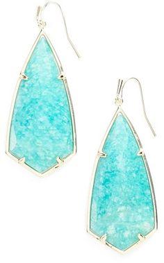 Kendra Scott 'Caroline' Semiprecious Stone Drop Earrings