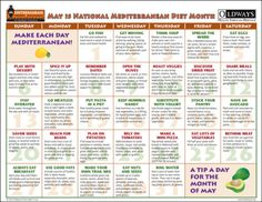 Mediterranean Diet Sample Menu | One Week Pescetarian Meal Plan Grocery List And Recipes Food