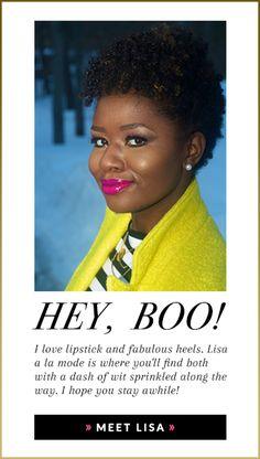 Lisa A La Mode Beauty Blogger black owned lingerie brands