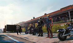 『アイアンマン3』のコンセプト・アート(キャラクター・デザイン、イメージボードなど)、絵コンテを集めてみた。: スギログ(sugilog)