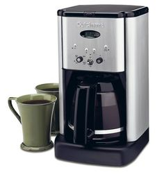 My ideal coffee maker has a 12-cup carafe, an automatic shut-off feature, and can be programmed to brew automatically. My sister needs her coffee maker to be compact, wants variable heat settings and she doesn't…