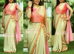 Com Saree Jacket Designs, Saree Blouse Neck Designs, Stylish Blouse Design, Designer Blouse Patterns, Fancy Blouse Designs, Bridal Blouse Designs, Lehenga Designs, Blouse Designs Catalogue, Sumo