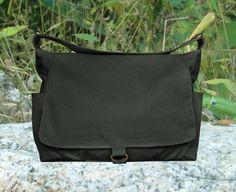 b71c7ee5cb35 Black canvas messenger shoulder bag women diaper bag crossbody school bag  travel bag laptop bag messenger bag women purses