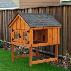 Amish Double Rabbit Hutch