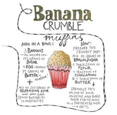Banana crumble muffins - Yvette van Boven