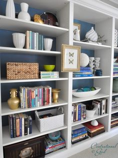 Bookcase Styling Design, Pictures, Remodel, Decor and Ideas