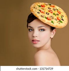 pizza hat - Google Search Mad Hatter Day, Pizza Hat, National Pizza Month, World Smile Day, Smosh, Pet Peeves, Sweetest Day, Girls Wear, Young Women