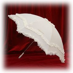 Baby the Stars Shine Bright | Collapsible Parasol/Umbrella in off white.