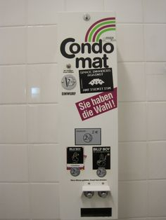 Condom Machine in Hannover