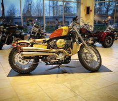 "Paradiae Harley Davidson 2016 Custom Kings build! ""The Surfster"""