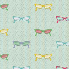 geek_dress_code_glasses fabric by glimmericks on Spoonflower - custom fabric