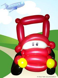 Balloon car by Clown Tallie