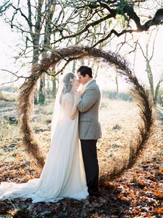 Beautiful frosty winter wedding inspiration via Magnolia Rouge
