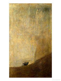 The Dog, 1820-23 Impressão giclée por Francisco de Goya na AllPosters.com.br