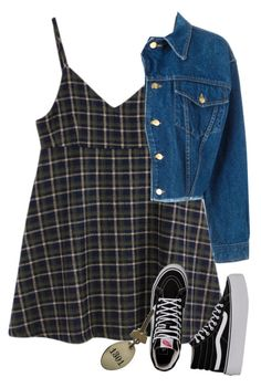 """""""Old motels"""" by chanelandcoke ❤ liked on Polyvore featuring Jean-Paul Gaultier and Vans"""