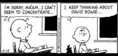 Peanuts David Bowie