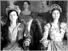 Queen Catherine of Aragon and Queen Claude of France, The Tudors